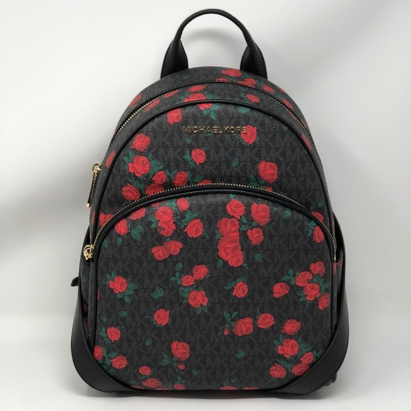 b28f9be0684c Michael Kors Bags | Abbey Medium Floral Print Backpack | Poshmark